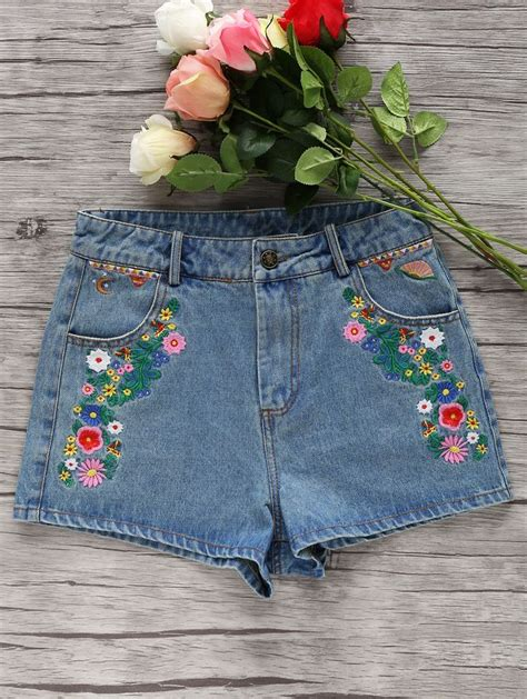 embroidery denim 25 best ideas about floral denim on floral