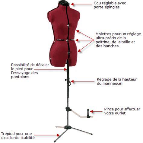 pied reglable 1818 materiel couture mannequin