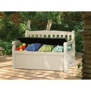 banc coffre exterieur banc coffre gain de place pour ranger et s asseoir au jardin