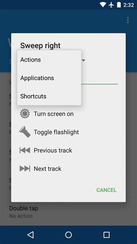 how to customize android launch apps custom actions with screen gestures on android 171 nexus gadget hacks