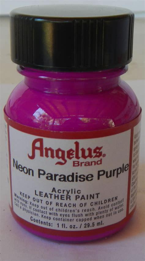 angelus paint neon quot angelus neon paint angelus neon leather paint quot