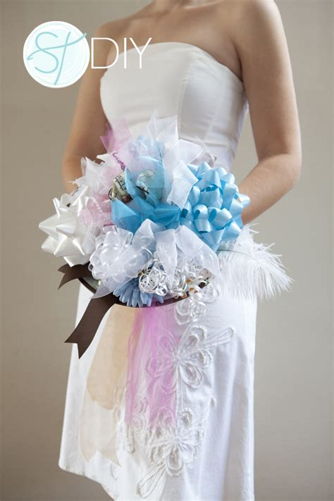 Bridal Shower Bouquet do it yourself weddings how to make pew bows invitations ideas