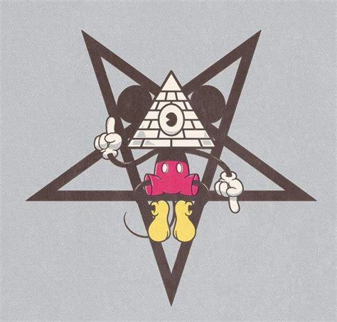 mickey mouse illuminati tinfoil hat 187 disney