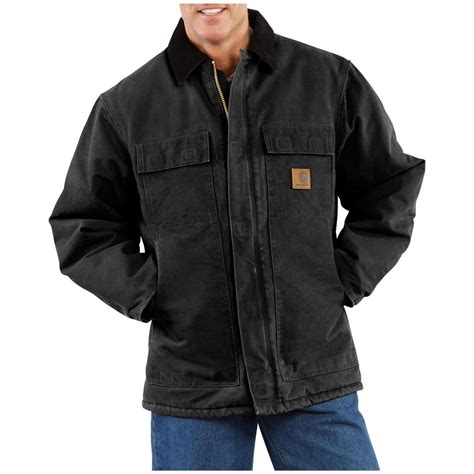carhartt coat carhartt s sandstone arctic quilt lined traditional coat 108316 insulated