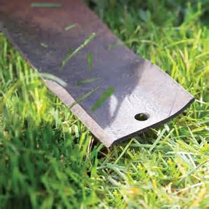 how to sharpen a lawnmower blade with a bench grinder lawn mower troubleshooting and repair