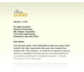Sales Letters Templates Sales Letter Template With 7 Vital Sample Sales Letters