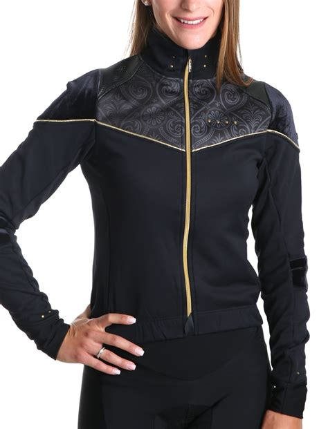 womens cycling jacket s winter cycling jacket chic g4 dimension
