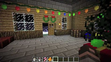 minecraft christmas special the christmas craft mod youtube