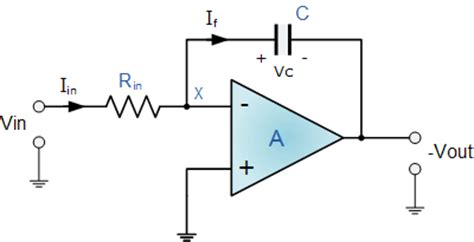integrator circuit capacitor circuits help op integrator