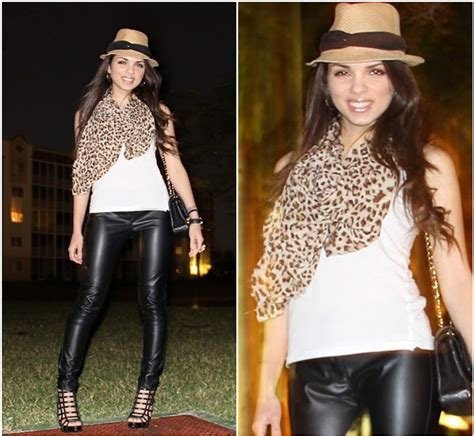 Kacamata Chanel 2 Leopard daniela ramirez forever 21 fedora chanel bag the leopard scarf lookbook