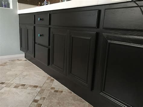 what finish paint to use on kitchen how to paint cabinets with gel stain diy perfectly
