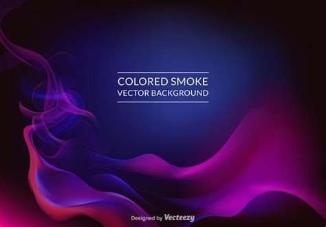 Free Colored Smoke Vector Background   Download Free