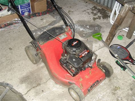I Have A Champion 375 Push Lawn Mower Which Is Chugging