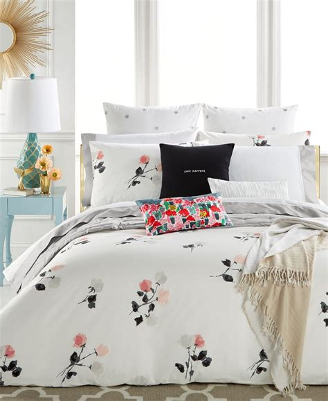 Kate Spade New York Willow Court Blush Full Queen Duvet Kate Spade Bed Set
