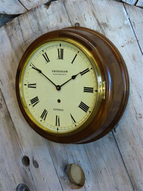 antique wall clocks antiques atlas wooden naval wall clock