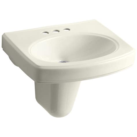 wall mounted china american standard lucerne wall mounted bathroom sink in