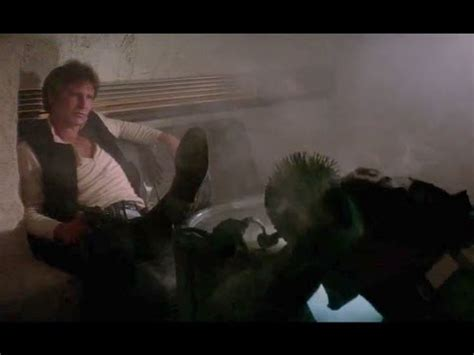 star wars han solo shot first proof that han shot first youtube