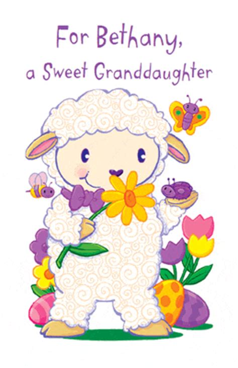 printable birthday cards granddaughter sweet wishes for granddaughter greeting card easter