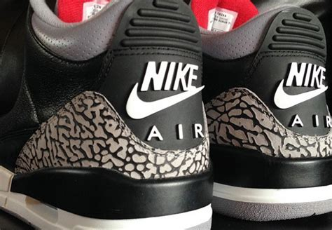 Sneakers Keychain Air 3 Black Cement will we see an air 3 retro 88 quot black cement quot not anytime soon sneakernews