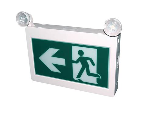 exit emergency light combo led exit sign emergency light combo reno led lighting