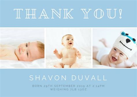 baptism thank you card template free customize 50 christening thank you card templates