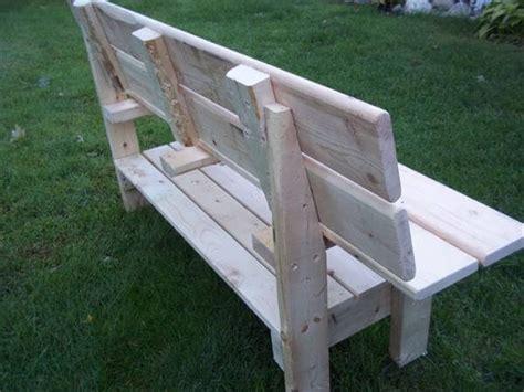 diy park bench diy wood pallet park bench 101 pallets