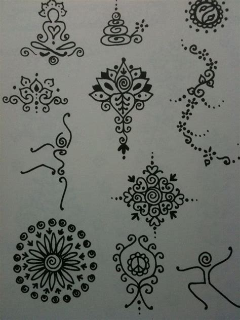 henna tattoo art project best 25 simple henna patterns ideas on
