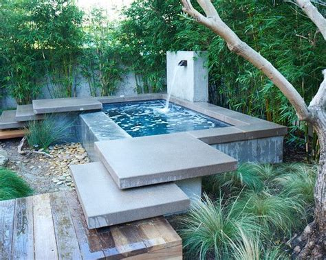 small backyard plunge pool 25 best ideas about plunge pool on pinterest small