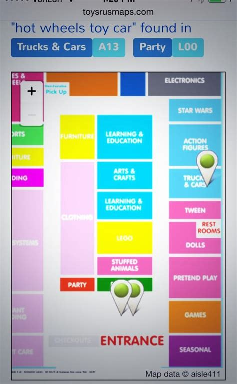 target aisle map target toys r us offer mobile in store maps for easy