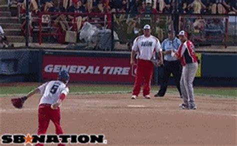 slow pitch softball homerun swing men s slowpitch softball gifs are the greatest sbnation com