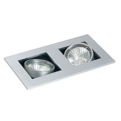 GU10 Studio Tilt Ceiling Spotlight Twin
