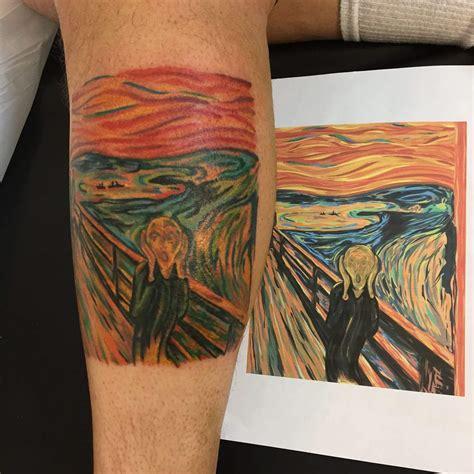 shogun tattoo pasadena the scream by pete castro shogun pasadena ca