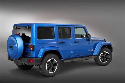 jeep polar edition jeep wrangler polar limited edition revealed ahead of
