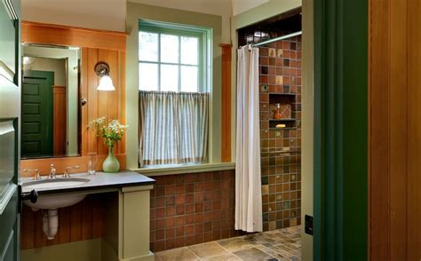 green and orange bathroom choosing the right bathroom color scheme to show your
