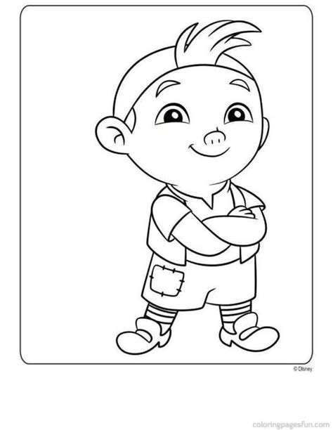 Jake And The Neverland Pirates Free Printables Coloring Home Jake Neverland Coloring Pages