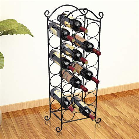 porta bottiglie di vino articoli per vidaxl porta bottiglie di vino in metallo per
