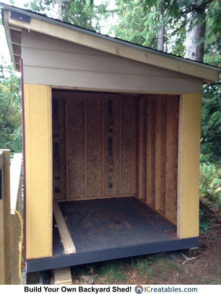 lean  shed door opening shed doors building