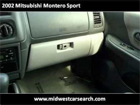 auto air conditioning repair 2002 mitsubishi montero sport on board diagnostic system 2002 mitsubishi montero sport used cars fridley mn youtube