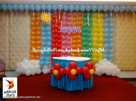 simple birthday party decorations at home st birthday baby pics decoration ideas for boys on