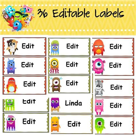 editable class list template back to school behavior management editable class reward