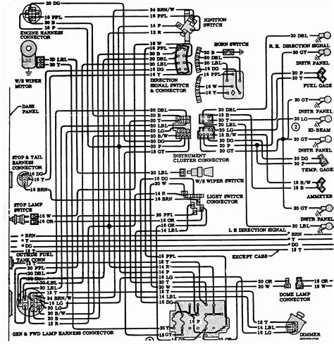 wiring diagram 83 chevy truck wiring diagram
