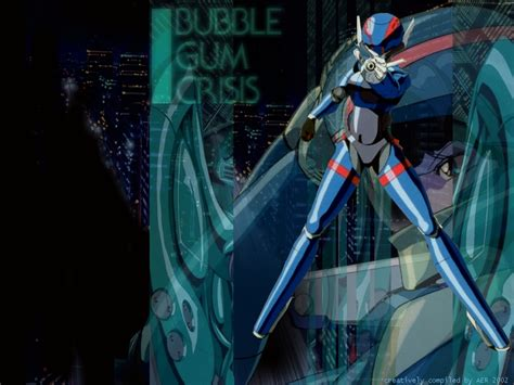 Bor Priss Priss Asagiri Bubblegum Crisis Wallpaper 380075
