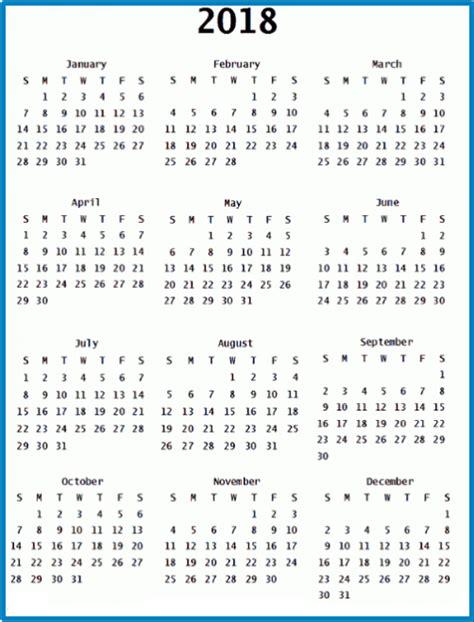 Can You Do A Calendar In Excel Free 2018 Calendar Excel Template