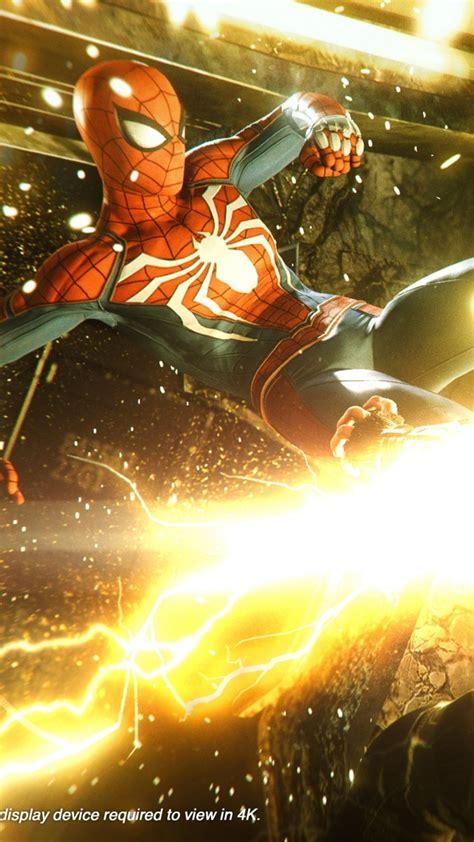 wallpaper marvels spider man   screenshot  games