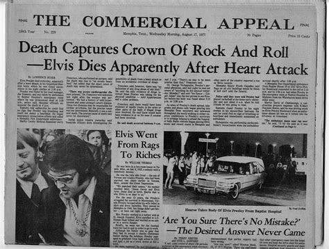 Gibraltar 2007 Hm Elizabeth Ii Anniv Ms elvis dead original 1977 newspaper sad day in elvis ebay