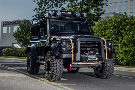 90s land rover land rover defender 90 spectre edition hiconsumption