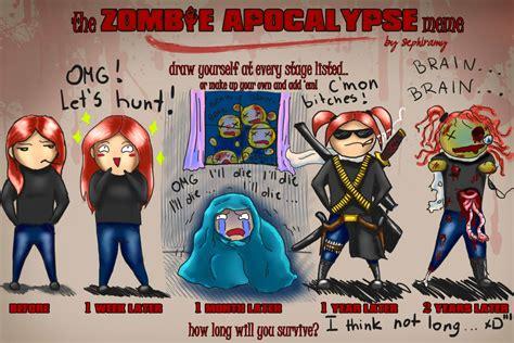 Zombie Apocalypse Meme - zombie apocalypse team meme