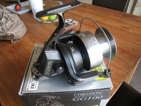 Reel Tica Cybernetic Gg100r fs tica cybernetic gg100 spin reel the fishing website discussion forums