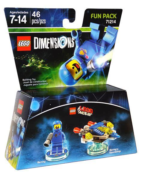 Dijamin Ori Lego 71214 Dimensions Pack Benny lego dimensions pack 71214 benny pack 46 pcs new sealed mint condition your