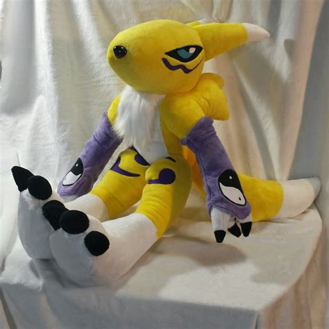 custom stuffed animals renamon custom plush 2 on storenvy